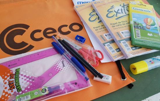 Estamos preparando los kits escolares para nuestros afiliados