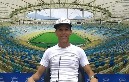 Apoyo del ceco al ultramaratonista Jonathan Navarro