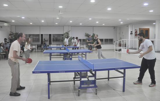 Olimpiadas mercantiles: tenis de mesa