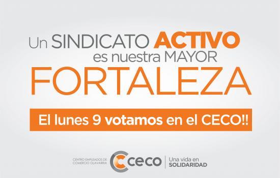 Elección en el CECO el 9 de marzo
